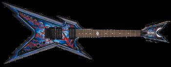 Dean Guitars Razorback DB Floyd DNA Spatter : 1