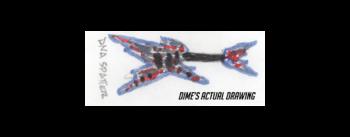 Dean Guitars Razorback DB Floyd DNA Spatter : rzrdbfdna v8