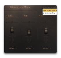 Native Instruments String Ensemble : Mixer
