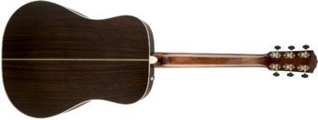 Fender PM-1 Deluxe Dreadnought : 0960270221 gtr back 001 rr