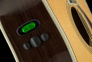Fender PM-1 Deluxe Dreadnought : 0960270221 gtr frtbdydtl 002 nr