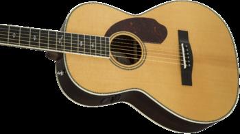 Fender PM-2 Deluxe Parlor : 0960272221 gtr cntbdyleft 001 nr