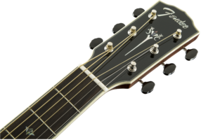 Fender PM-2 Deluxe Parlor : 0960272221 gtr hdstckfrt 001 nr