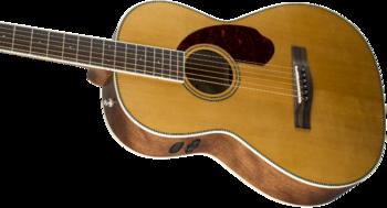 Fender PM-2 Standard Parlor : 0960252221 gtr cntbdyleft 001 nr