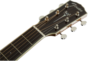 Fender PM-2 Standard Parlor : 0960252221 gtr hdstckfrt 001 nr