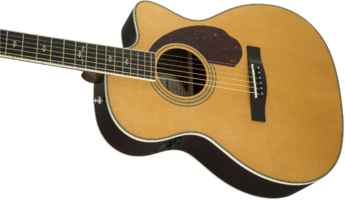 Fender PM-3 Deluxe Triple-0 : 0960271221 gtr cntbdyleft 001 nr