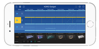 2 KORG Gadget iPhone Main Landscape