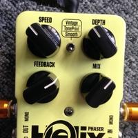TC Electronic Helix Phaser : Potards de la Helix