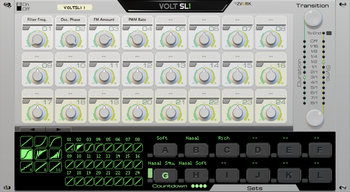 Zvork Volt SL-1 : Version 2.1 front panel
