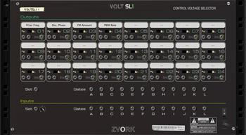 Zvork Volt SL-1 : Version 2.1 back panel