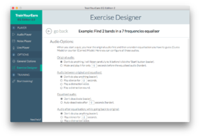 exercise editor screenshot 2