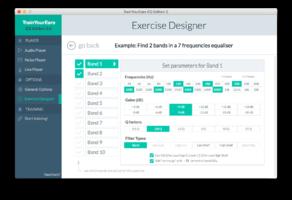 exercise editor screenshot