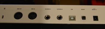 M-Audio Code 49 : arrière