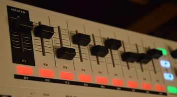 M-Audio Code 49 : faders