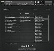 Marble skin preset