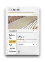 Native Instruments Una Corda : Fabric