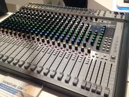 Soundcraft Signature 22 MTK : Soundcraft Signature 22 MTK 3 Musikmesse 2016 @ AF