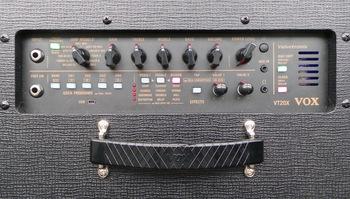 Vox VT20X : 2 VT20X Panneau de contrôle