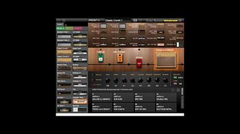 Vox VT20X : Tone Room Pedal Modélisations
