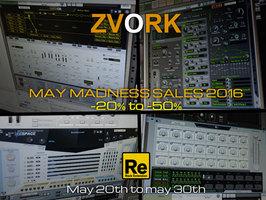 Zvork Noxious Additive Wave Synthesizer : MayMadness2016