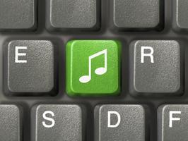 music key on keyboard 000004155869Medium
