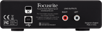 Focusrite Scarlett2 Solo : RFO SCARLETT2 SOLO 5 B
