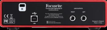 Focusrite Scarlett2 2i2 : RFO SCARLETT2 2I2 5 B