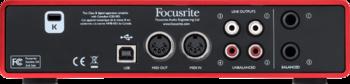 Focusrite Scarlett2 2i4 : RFO SCARLETT2 2I4 5 B