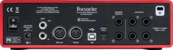 Focusrite Scarlett2 18i8 : RFO SCARLETT2 18I8 5 B