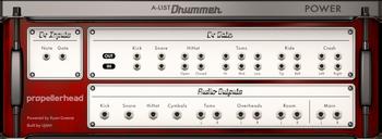 PropellerHead A-List Power Drummer : power drummer large rear