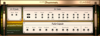 PropellerHead A-List Classic Drummer : Classic drummer rear