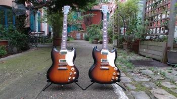 Gibson SG Special 2016 T : Photos SG Special 2016 1 (T à gauche, HP à droite)