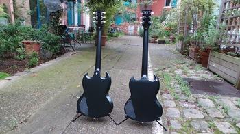 Gibson SG Special 2016 T : Photos SG Special 2016 13 (T à gauche, HP à droite)