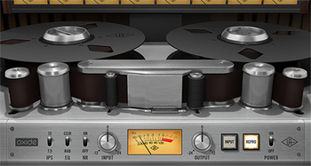 Universal Audio Oxide Tape Recorder : oxide gui sq