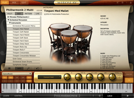 Timpani MP2 Screenshot