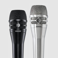 Shure KSM8 Dualdyne : KSM8, dispo en noir ou en finition Nickel