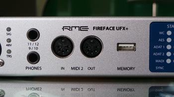 RME Audio Fireface UFX+ : RME UFX+ 1