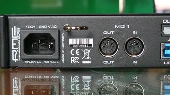 RME Audio Fireface UFX+ : RME UFX+ 9