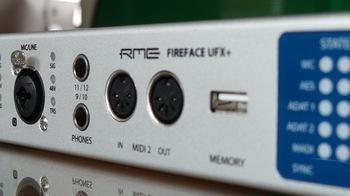 RME Audio Fireface UFX+ : RME UFX+ 10
