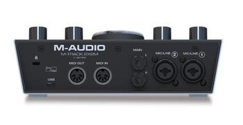 M-Audio M-Track 2x2M : MIUF M Track2x2M Rear Media8x10
