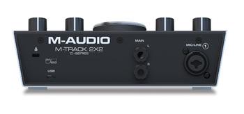 M-Audio M-Track 2x2 : MIUE M Track2x2 Rear Media8x10
