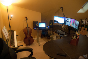 home music studio 1