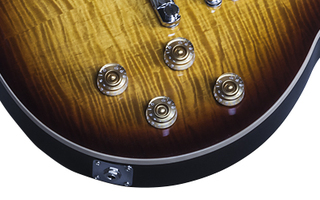 Gibson Les Paul Standard 7 String Limited : LPS716TOCH1 ELECTRONICS PANEL 02