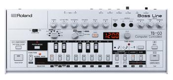 Roland TB-03 : TB 03 Front