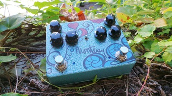 Keeley Electronics Monterey Rotary Fuzz Vibe : Test Keeley Monterey Photo 4