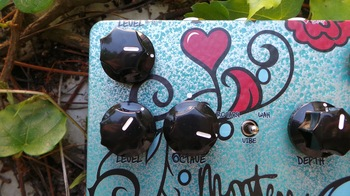 Keeley Electronics Monterey Rotary Fuzz Vibe : Test Keeley Monterey Photo 7