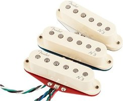 Fender N3 Noiseless Strat Pickup Set : 41fcCgUJxlL. SX355