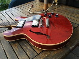 Gibson ES-339 30/60 Slender Neck - Antique Red : image