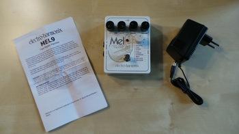 Electro-Harmonix Mel9 Tape Replay Machine : Test EHX Mel9 Photo 2