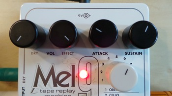 Electro-Harmonix Mel9 Tape Replay Machine : Test EHX Mel9 Photo 8